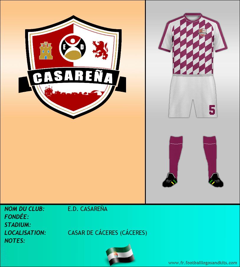 Logo de E.D. CASAREÑA