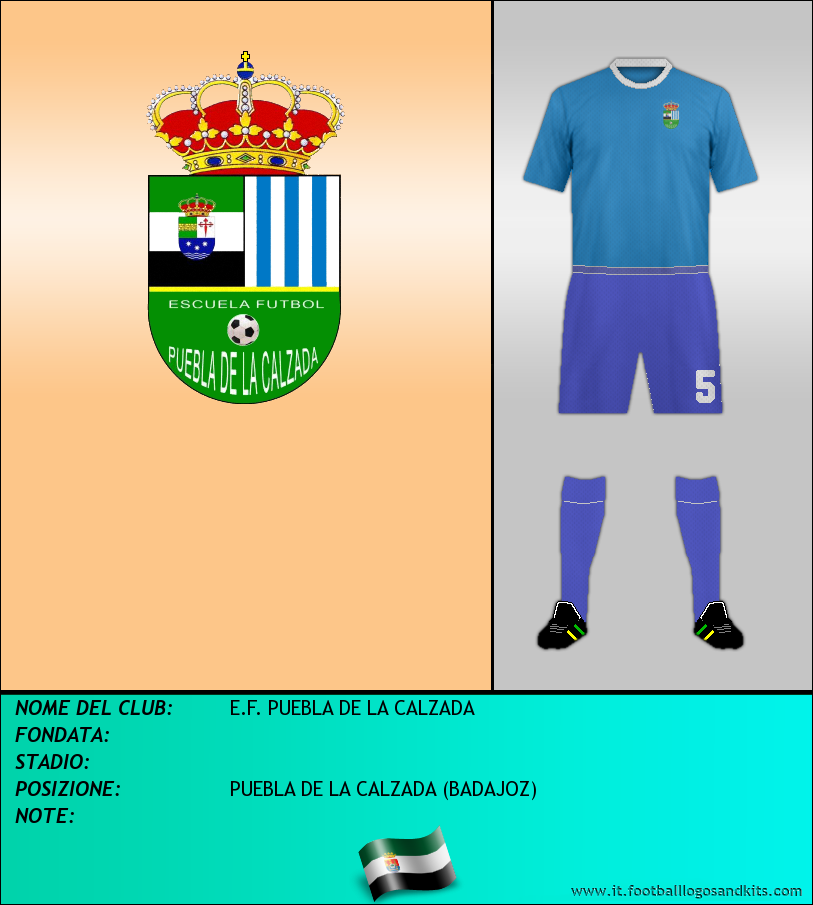 Logo di E.F. PUEBLA DE LA CALZADA