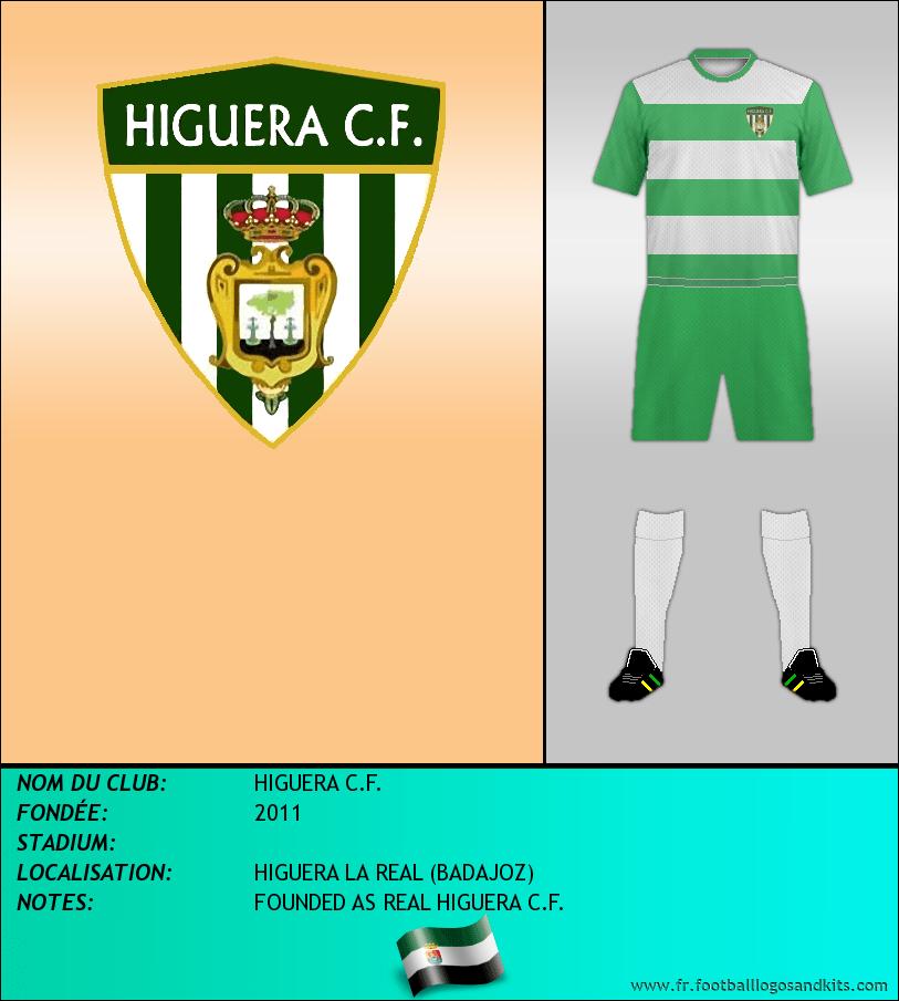 Logo de HIGUERA C.F.