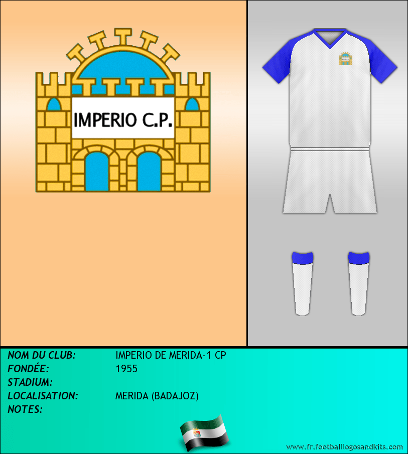Logo de IMPERIO DE MERIDA-1 CP