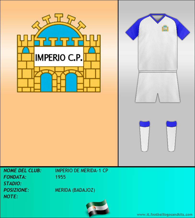 Logo di IMPERIO DE MERIDA-1 CP