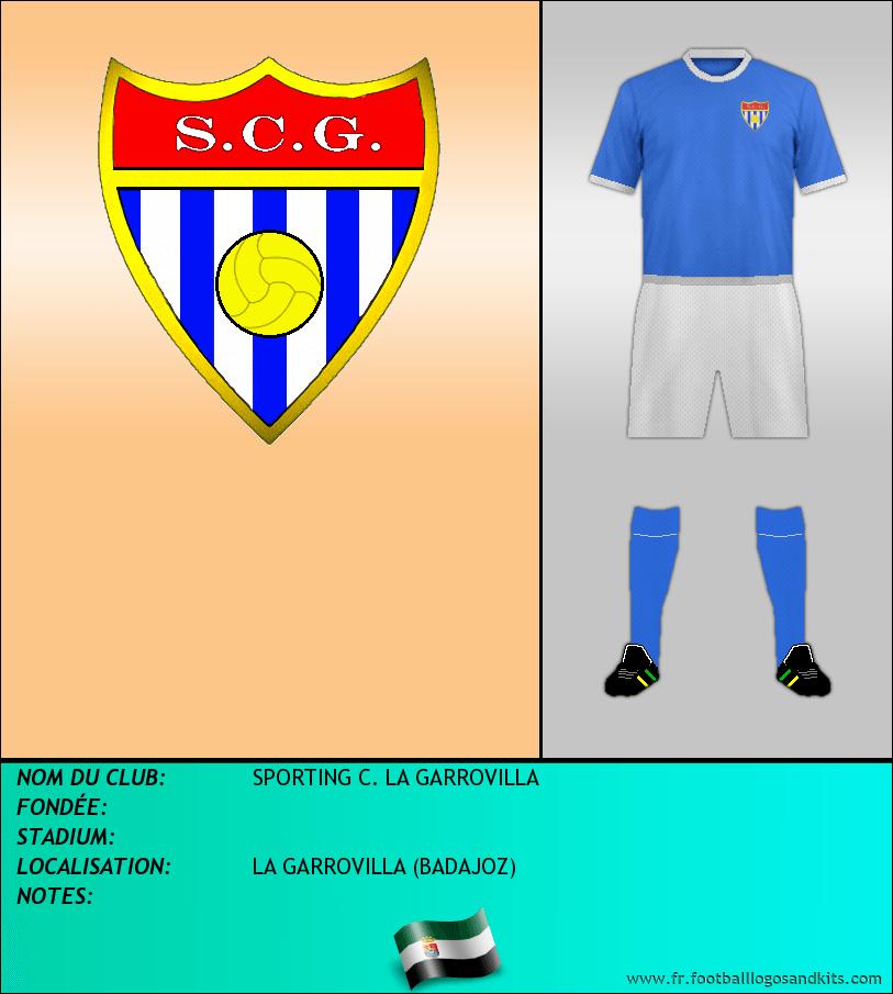 Logo de SPORTING C. LA GARROVILLA