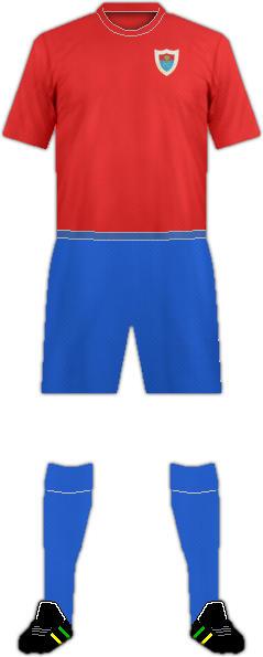 Kit BERGANTIÑOS F.C.