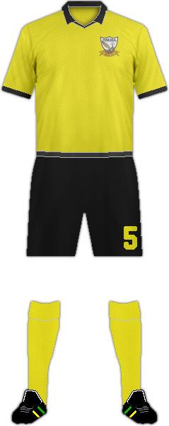 Kit PIÑEIRA SECA F.C.