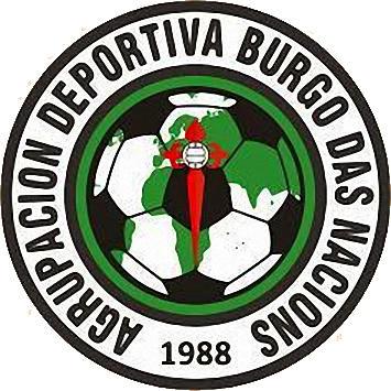 Logo A.D. BURGO DAS NACIONS (GALICIEN)