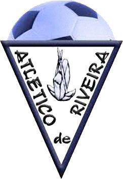 のロゴC. アトレティコ ・ デ ・ RIVEIRA (ガリシア)