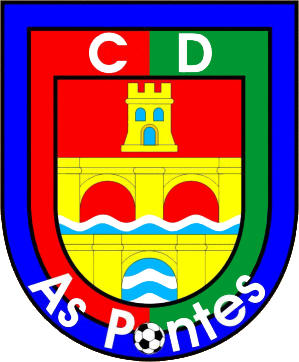 Logo C.D. AS PONTES (GALICIEN)