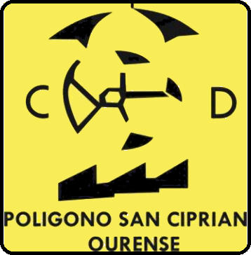 Logo di C.D. POLÍGONO S. CIPRIAN (GALIZIA)