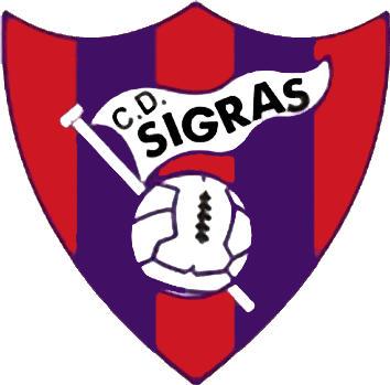 Logo C.D. SIGRÁS (GALICIEN)