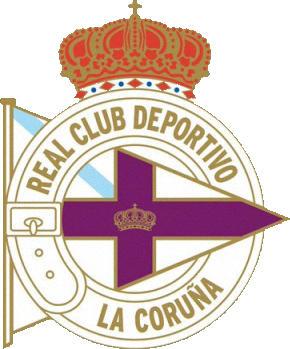 Logo REAL C. DEPORTIVO DE LA CORUÑA (GALICIEN)