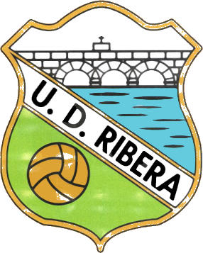 Logo U.D. RIBERA O ROSAL (GALICIEN)