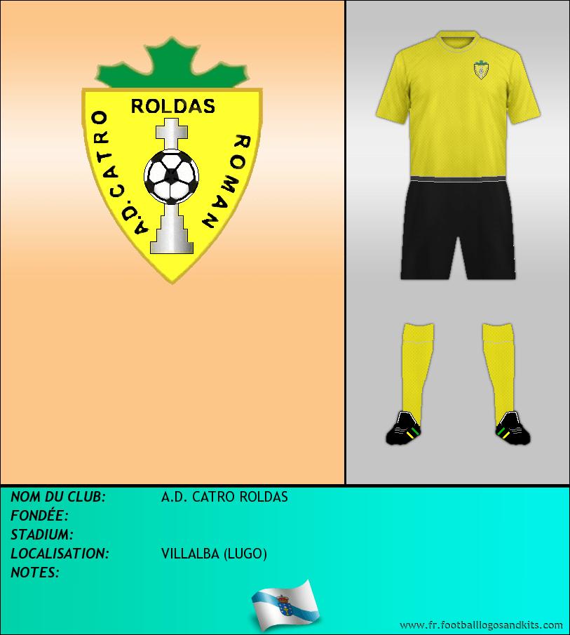 Logo de A.D. CATRO ROLDAS