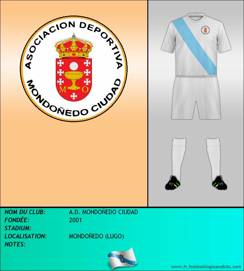 Logo de A.D. MONDOÑEDO CIUDAD