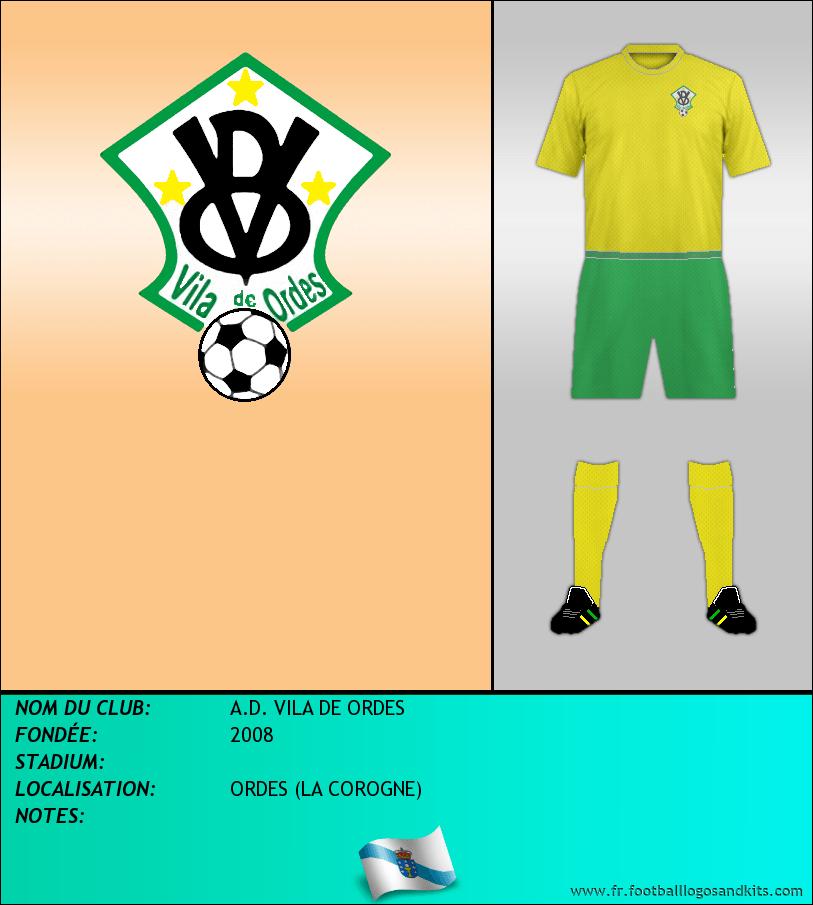 Logo de A.D. VILA DE ORDES