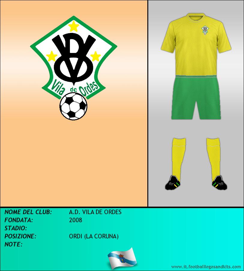 Logo di A.D. VILA DE ORDES