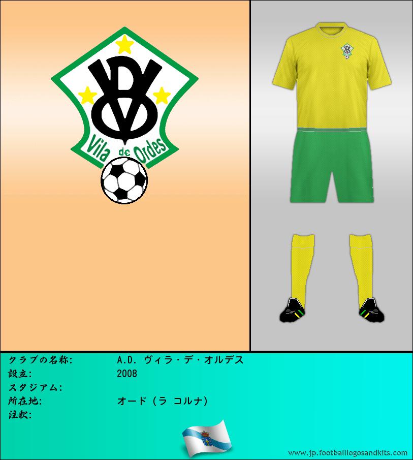 のロゴ西暦ビラ ・ デ ・ ORDES