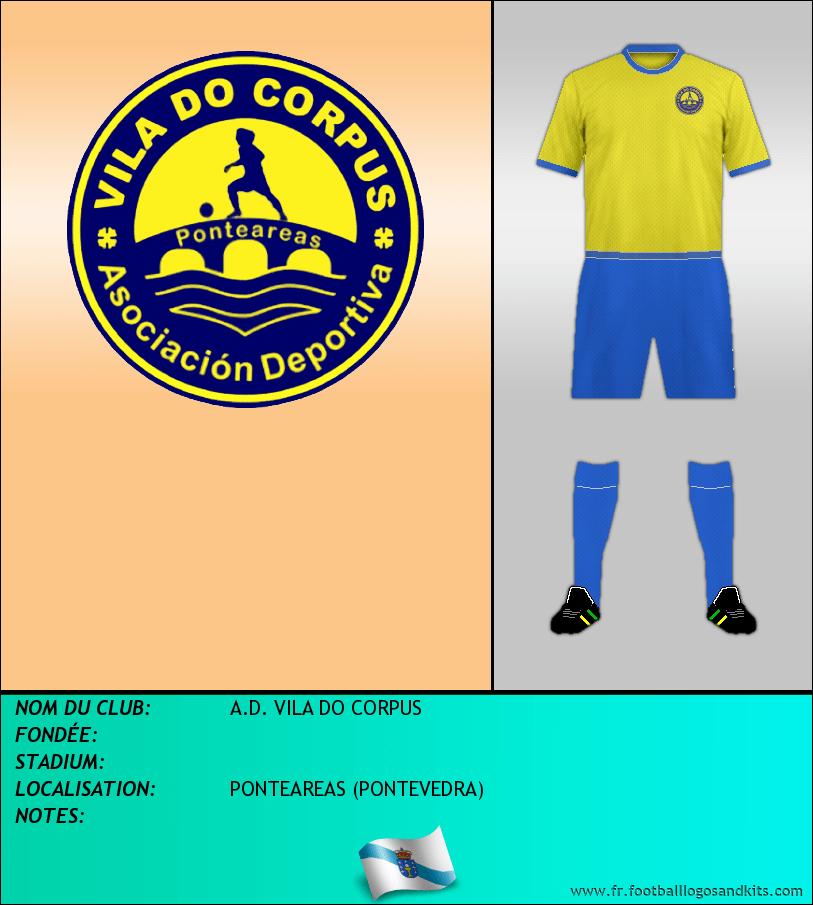 Logo de A.D. VILA DO CORPUS