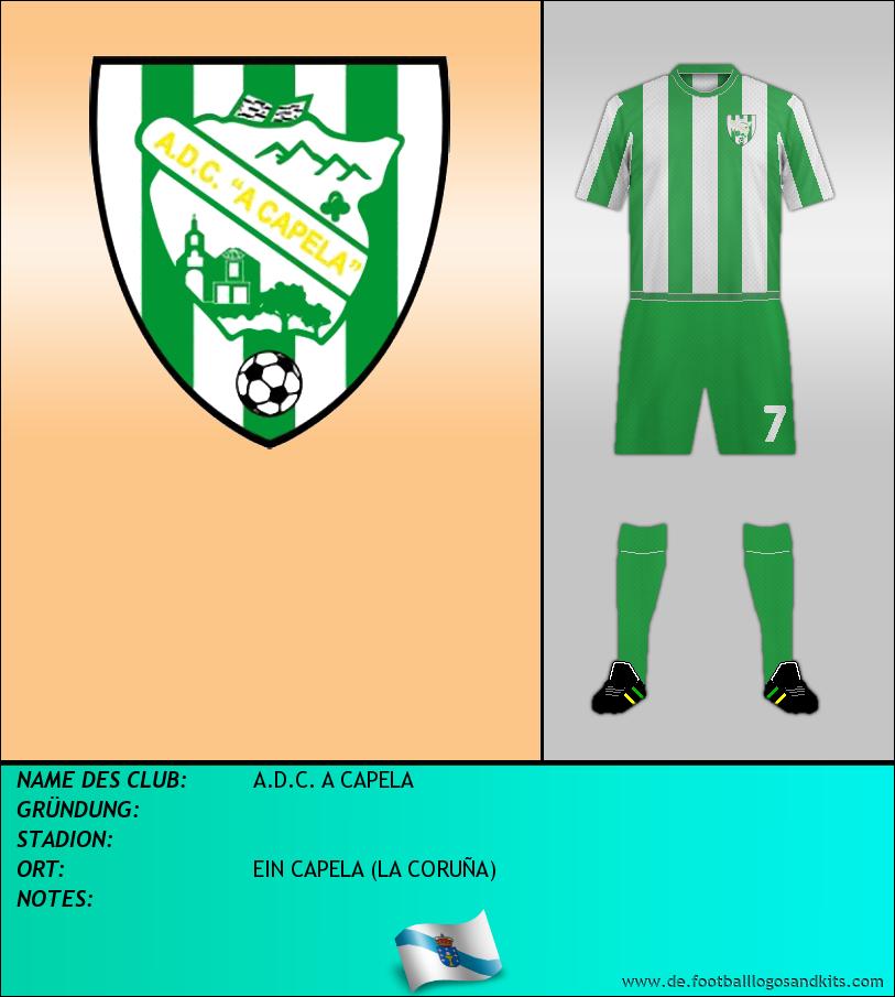 Logo A.D.C. A CAPELA