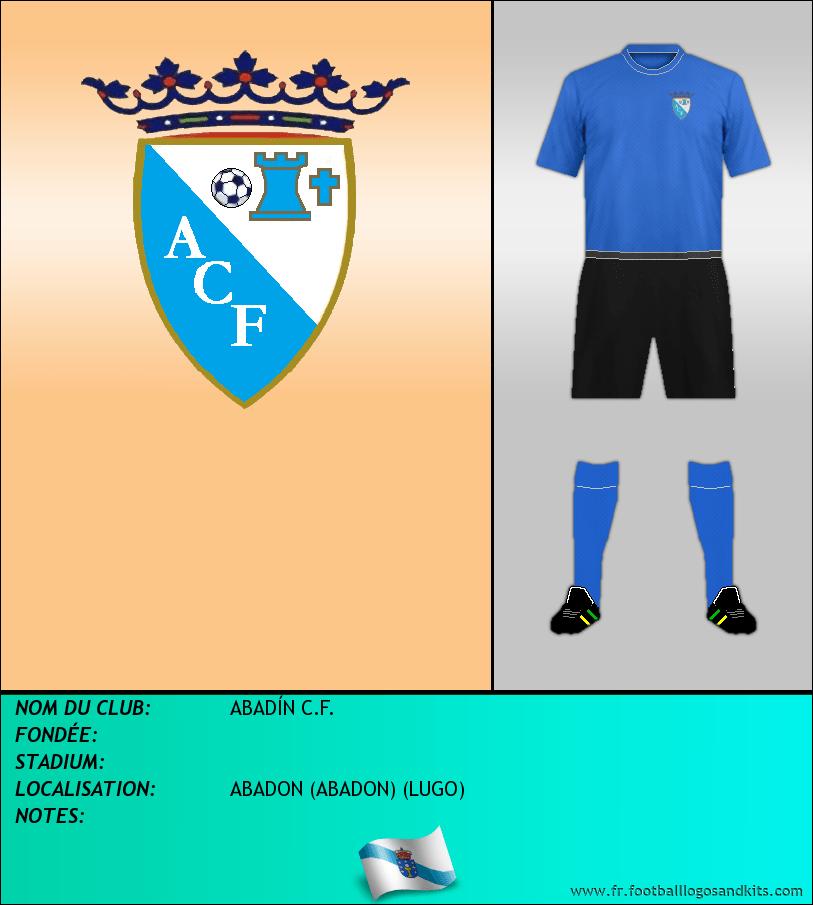 Logo de ABADÍN C.F.