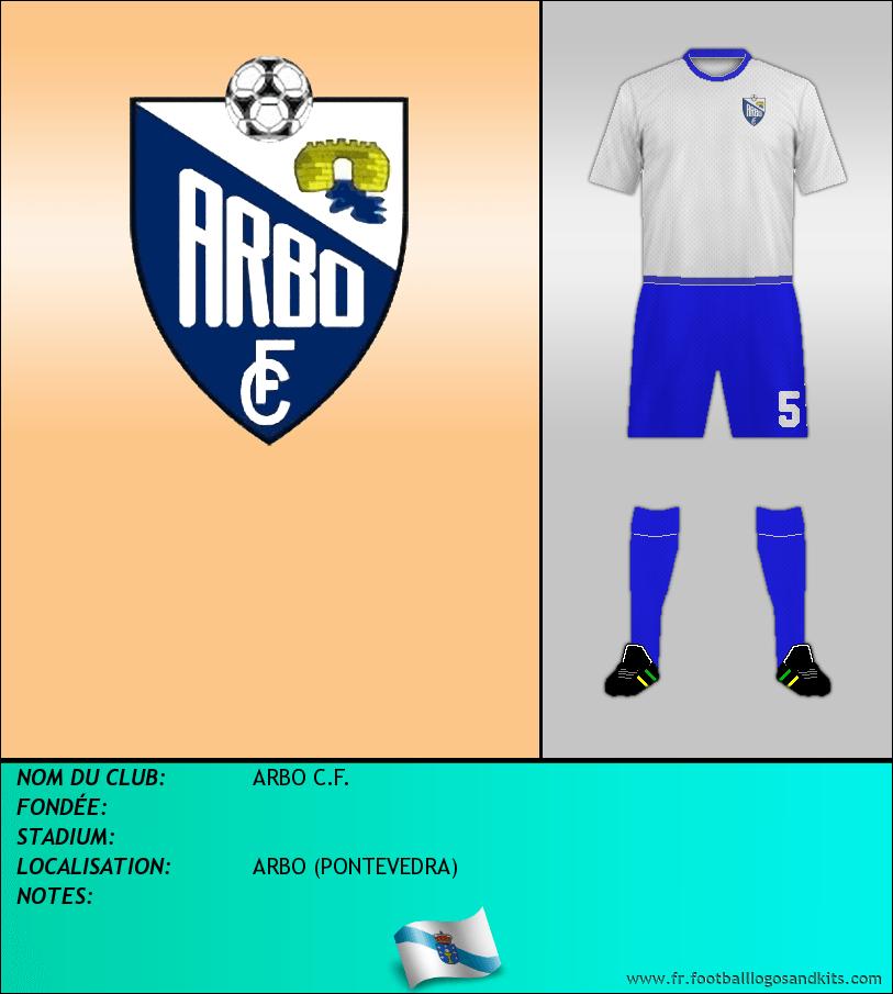 Logo de ARBO C.F.