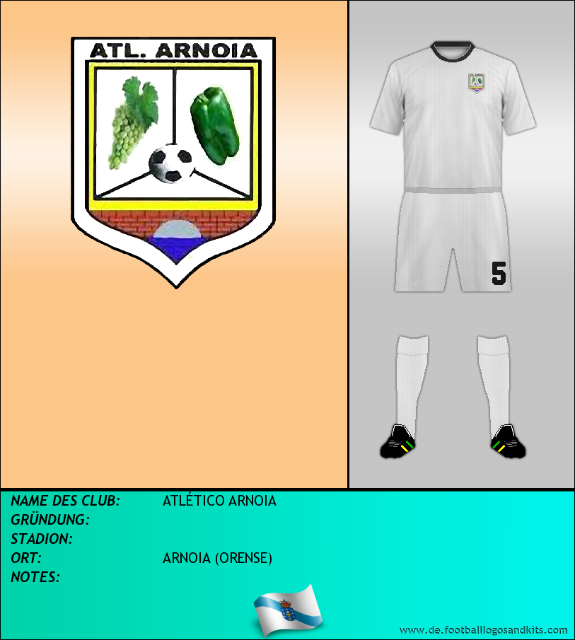 Logo ATLÉTICO ARNOIA