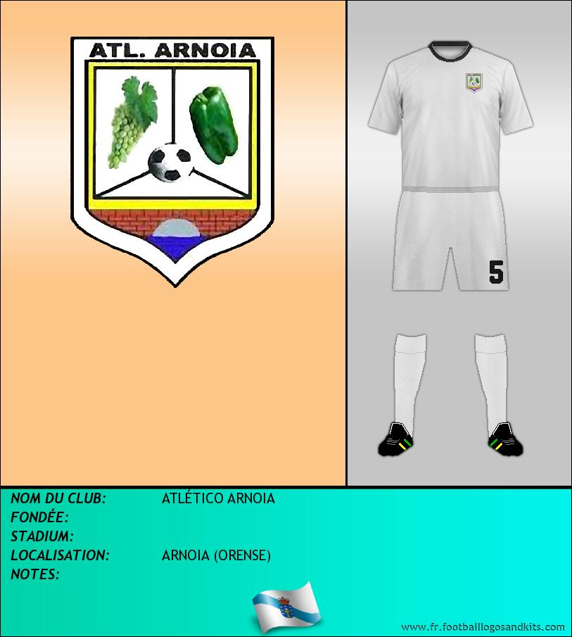 Logo de ATLÉTICO ARNOIA