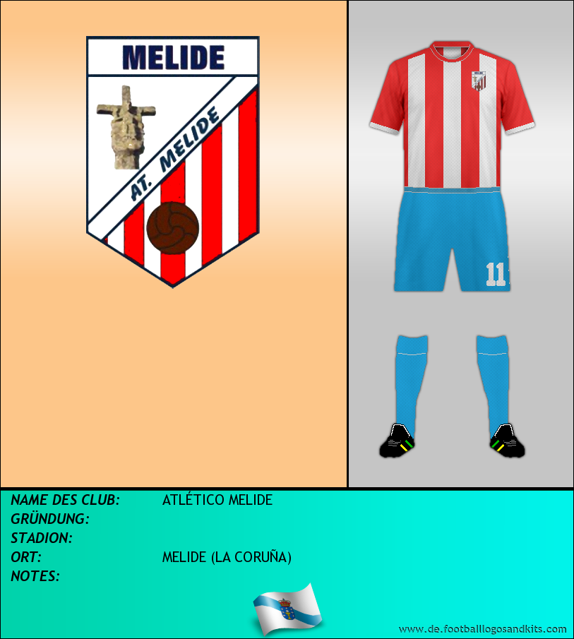 Logo ATLÉTICO MELIDE
