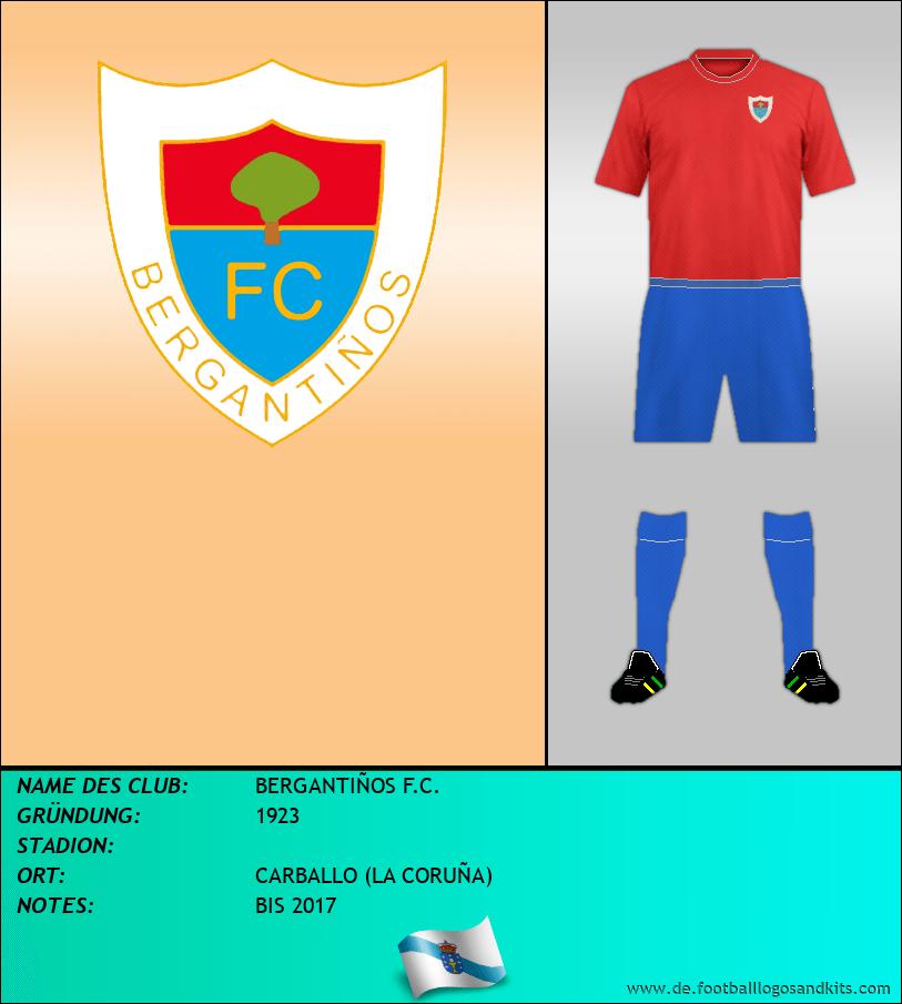 Logo BERGANTIÑOS F.C.