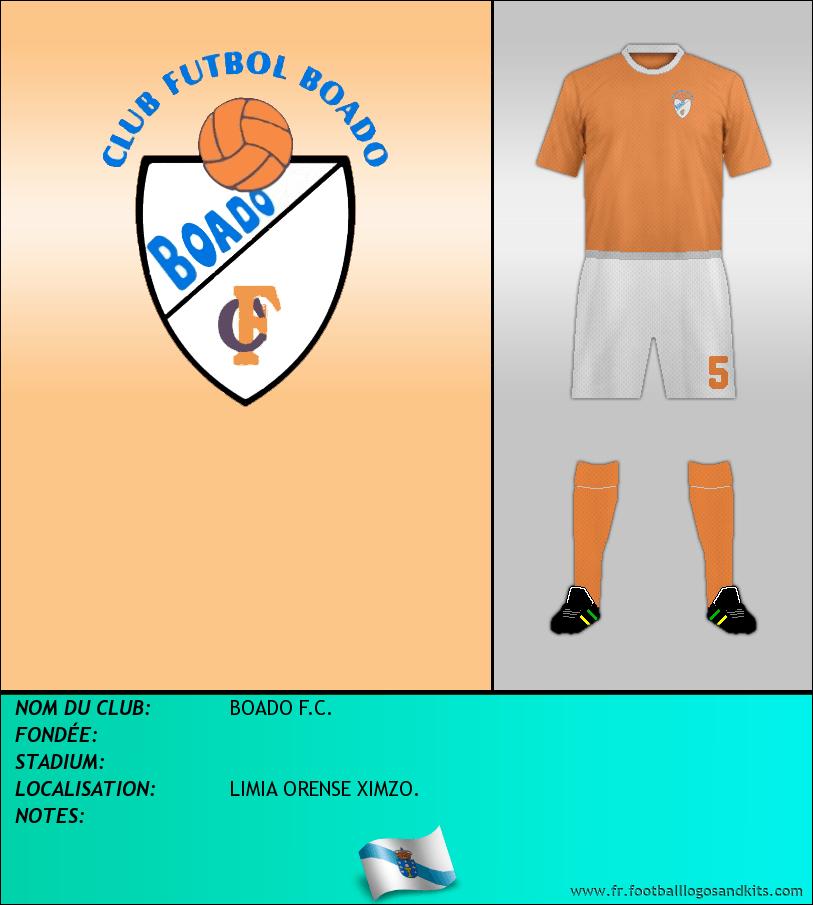 Logo de BOADO F.C.