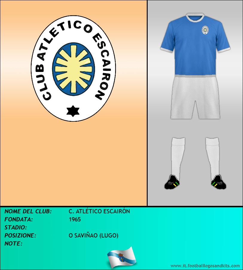Logo di C. ATLÉTICO ESCAIRÓN