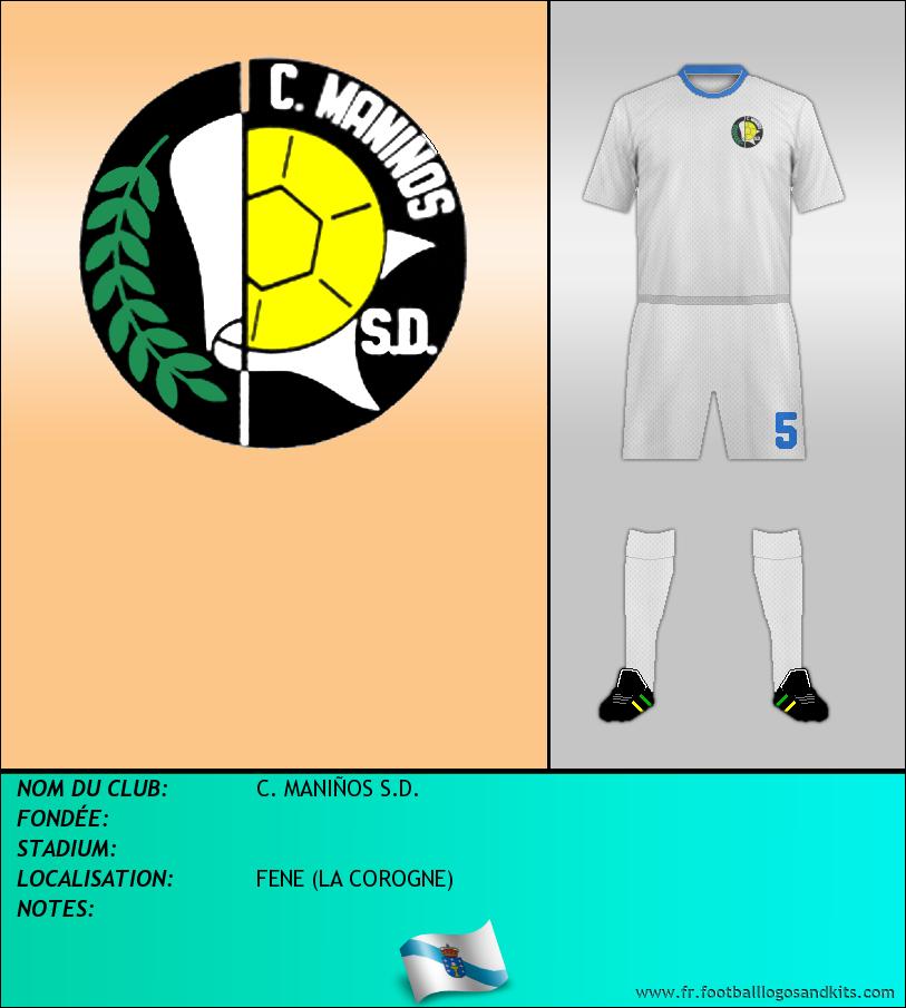Logo de C. MANIÑOS S.D.