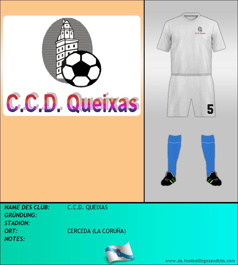 Logo C.C.D. QUEIXAS