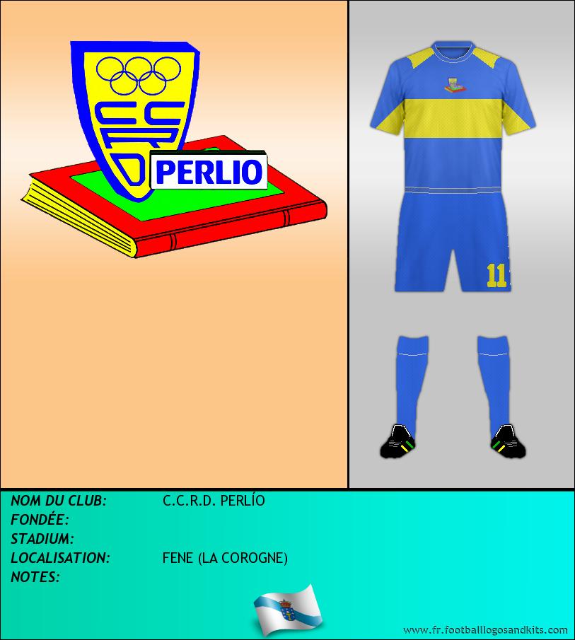 Logo de C.C.R.D. PERLÍO