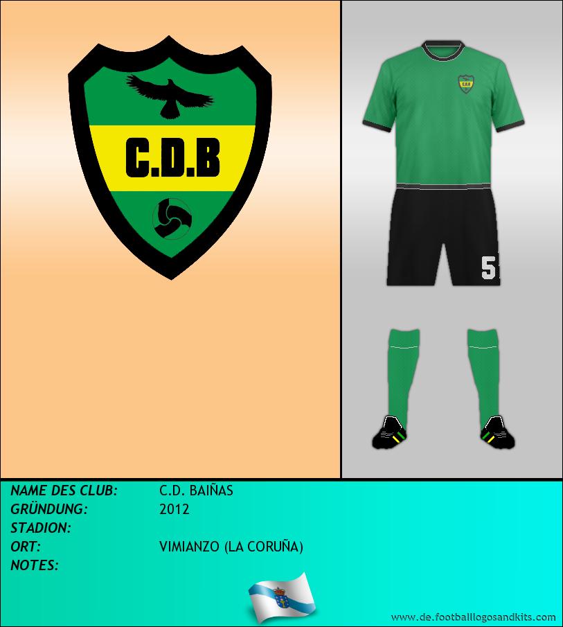 Logo C.D. BAIÑAS