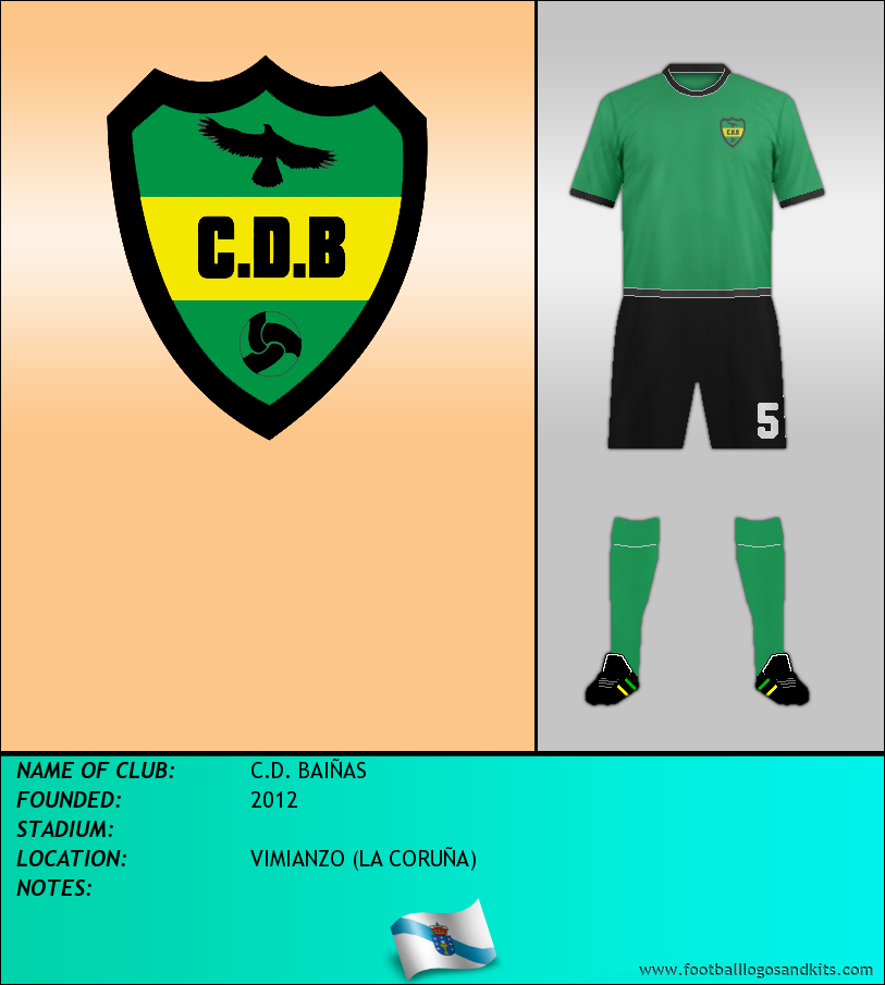 Logo of C.D. BAIÑAS