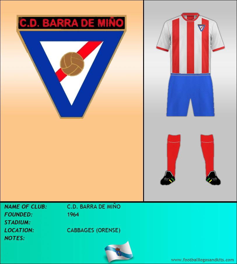 Logo of C.D. BARRA DE MIÑO