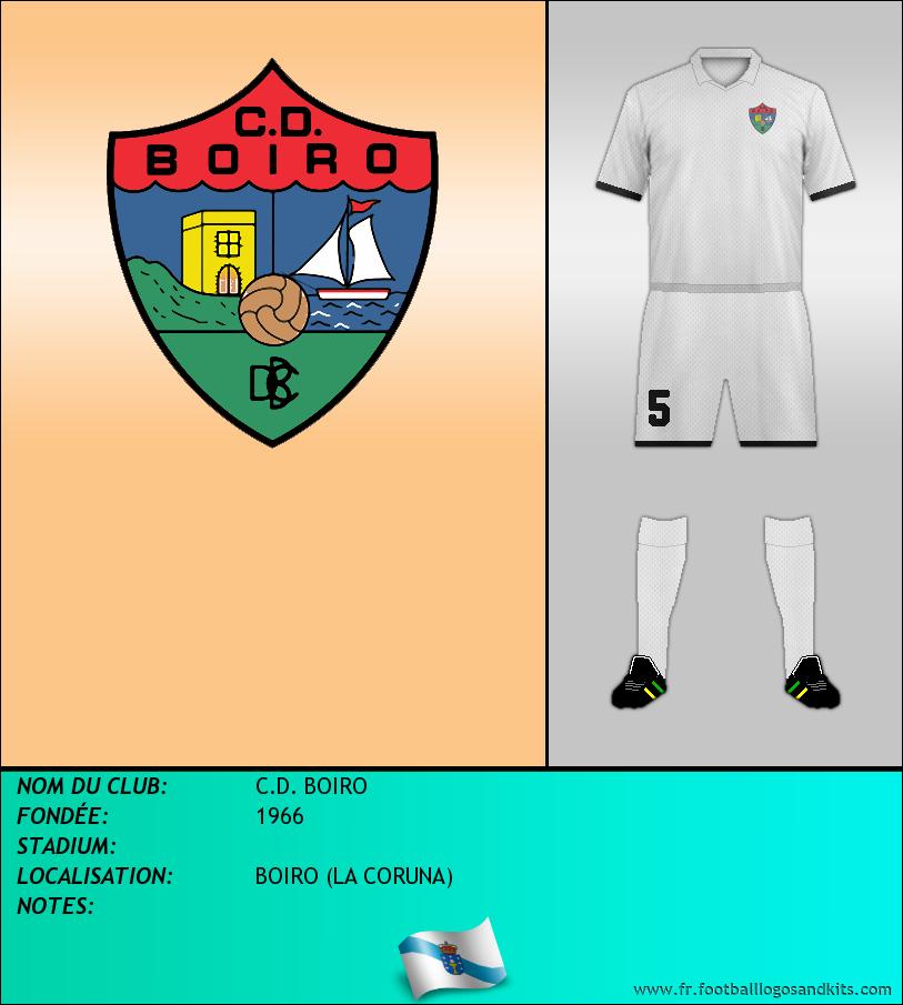 Logo de C.D. BOIRO
