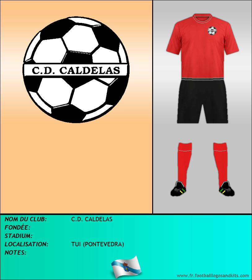 Logo de C.D. CALDELAS