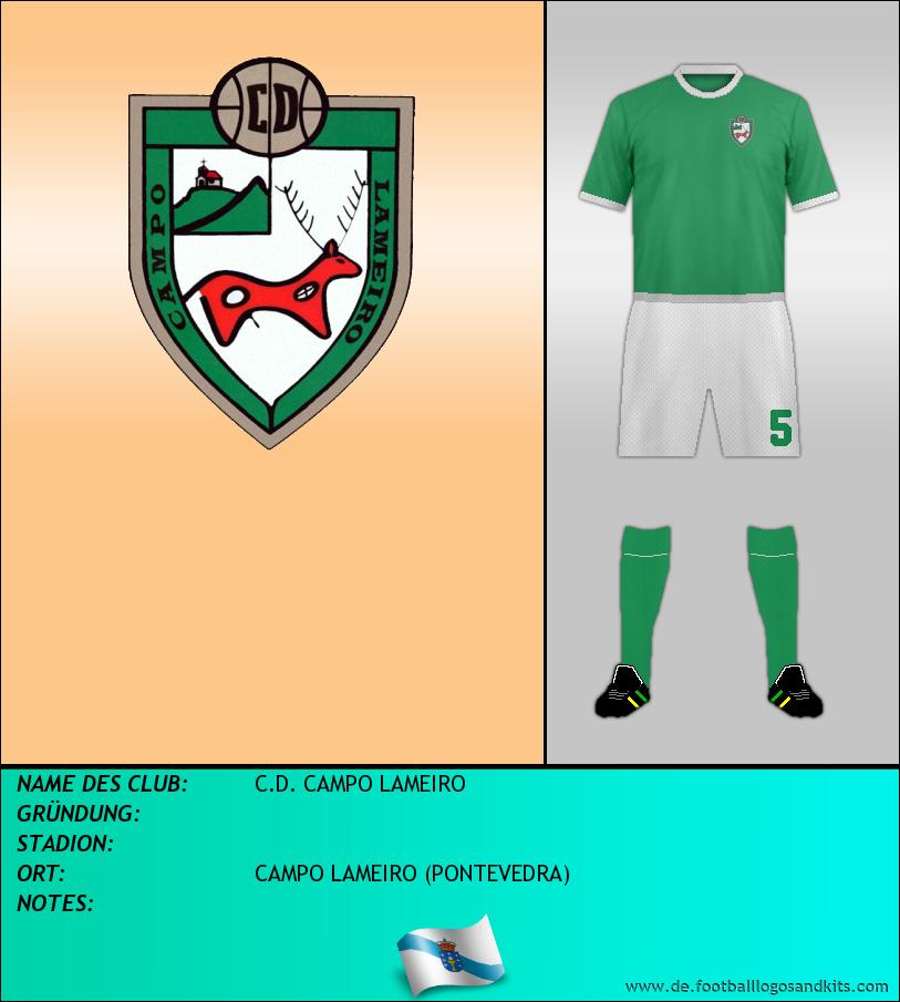 Logo C.D. CAMPO LAMEIRO