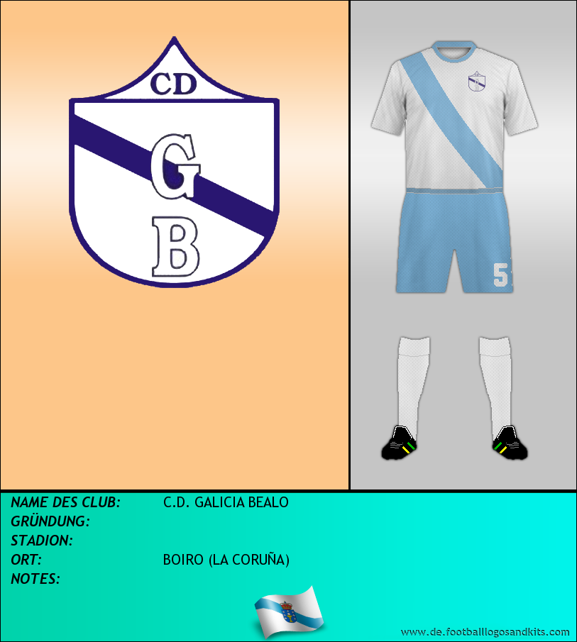 Logo C.D. GALICIA BEALO
