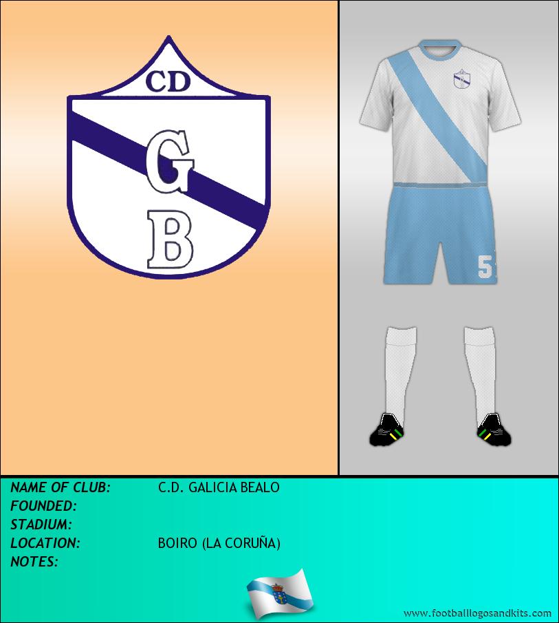 Logo of C.D. GALICIA BEALO