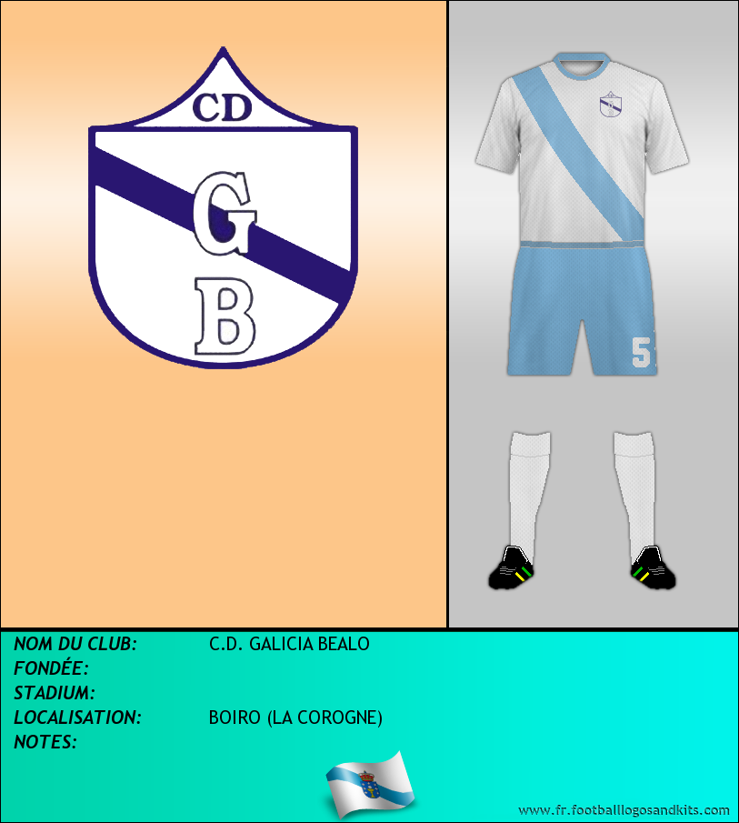 Logo de C.D. GALICIA BEALO