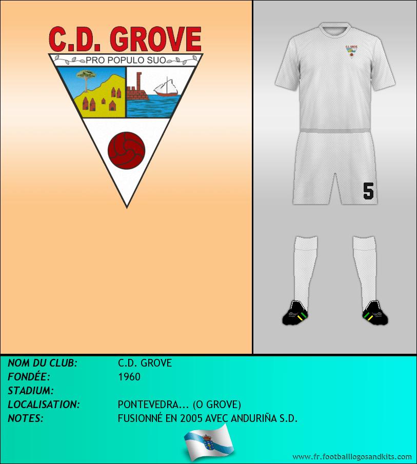 Logo de C.D. GROVE