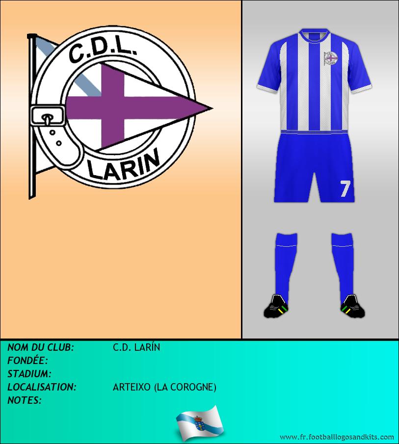 Logo de C.D. LARÍN