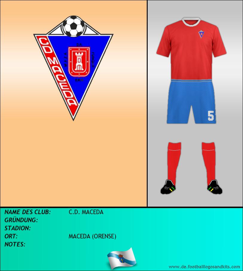 Logo C.D. MACEDA