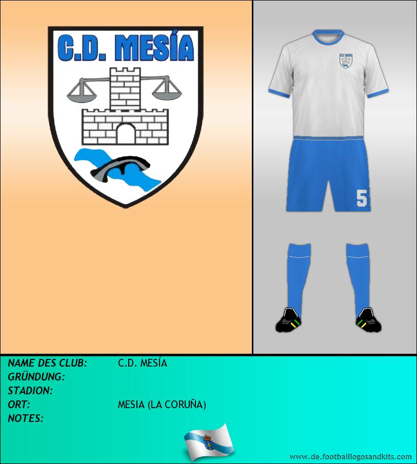 Logo C.D. MESÍA
