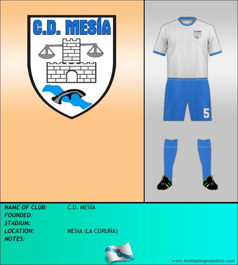 Logo of C.D. MESÍA