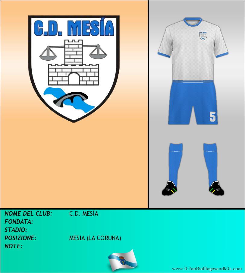 Logo di C.D. MESÍA