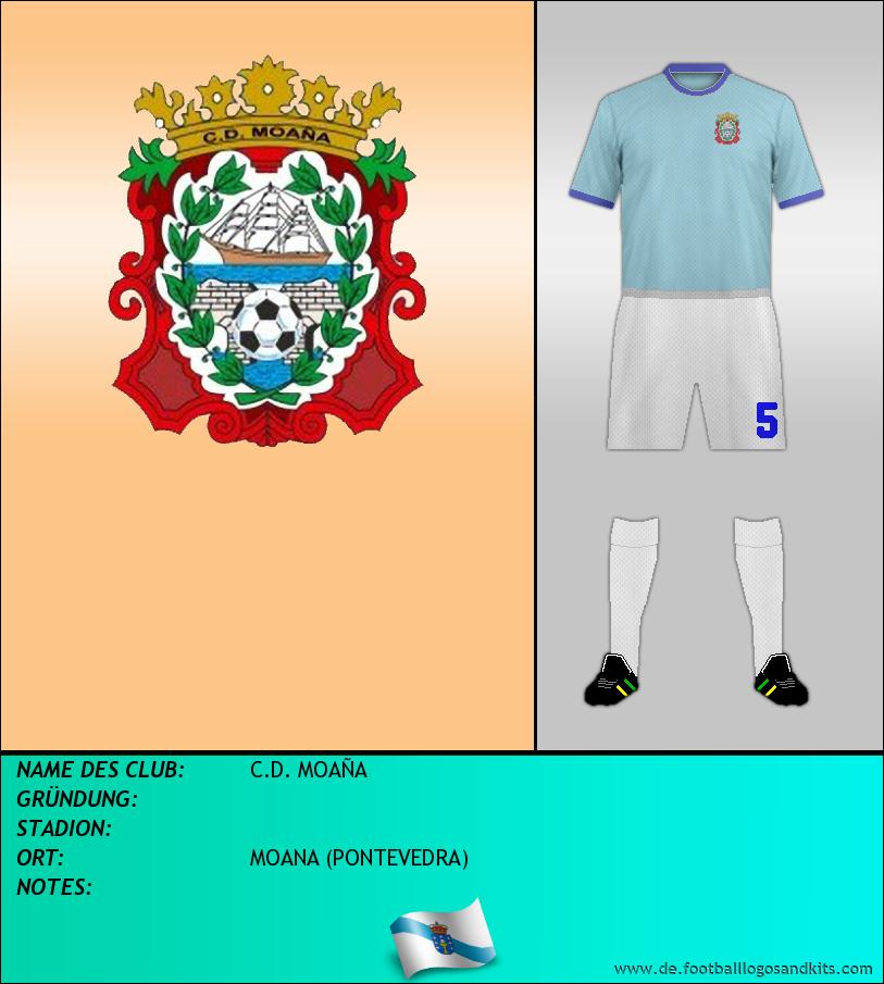 Logo C.D. MOAÑA
