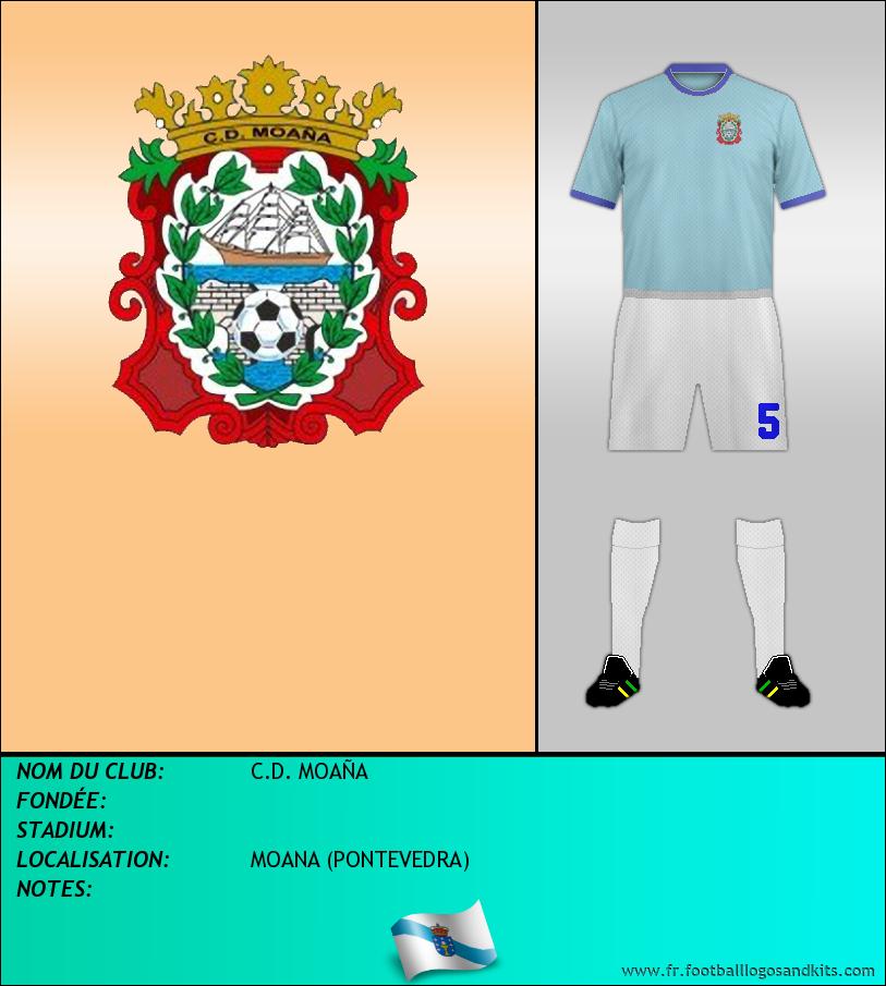 Logo de C.D. MOAÑA